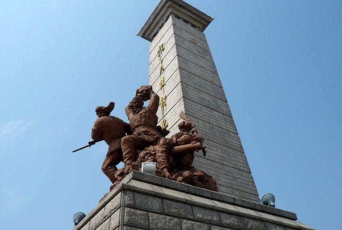 """与我们""""最可爱的人""""相比,这些""""美国野心狼""""的士兵雕塑恐怕是""""最可怜的"""